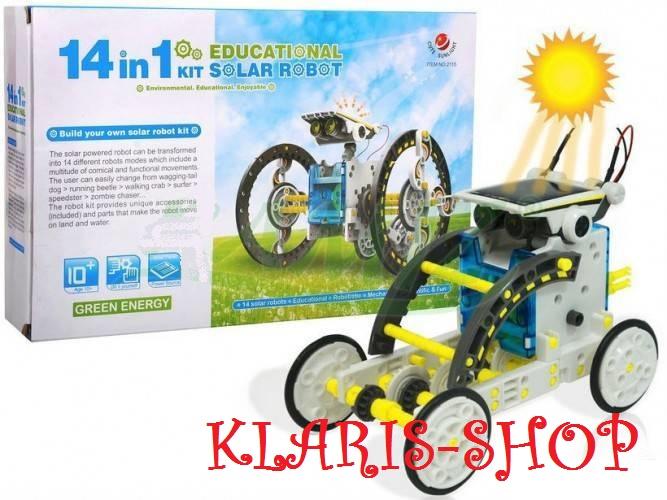 Solární stavebnice 14v1