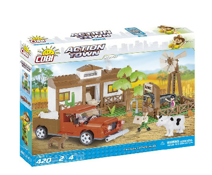 Stavebnice Cobi Action Town - Farma 420 ks
