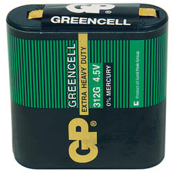 Baterie GP 312G Greencell 4,5V